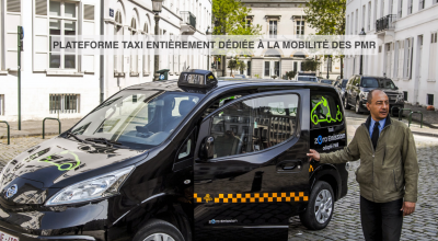 Handycab (application des taxis PMR)